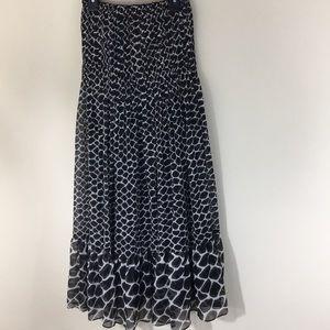 White House Black Market Strapless Dress Sz 4